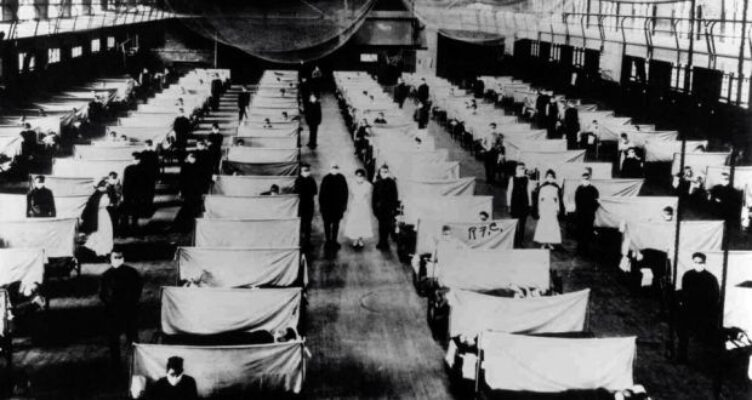 'Stacking the Coffins, Influenza, war and revolution in Ireland 1918-1919' Lecture by Ida Milne