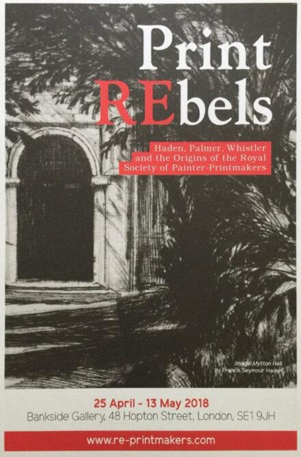 Print REbels at the Bankside Gallery, 2018 (2)