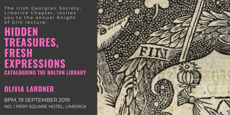 Knight of Glin Lecture: Hidden Treasures, Fresh Expression with Olivia Lardner