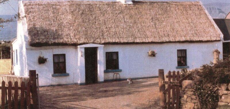 Sligo Mullanes Thatched Cottage Before