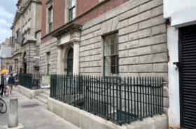 City Assembly House railings, plinths & steps