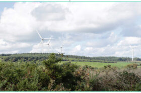 Lyrenacarriga wind farm, Counties Cork and Waterford