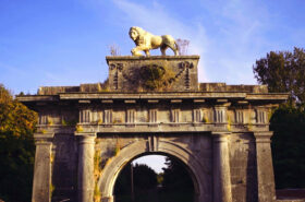 Restoration of the Lion's Gate, Mote Park, Co. Roscommon