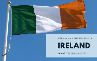 Webinar on Media Literacy in Europe: Ireland